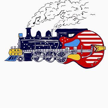 Train is a Strummin! by Stuarty