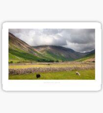 Wasdale Head, Cumbria Sticker
