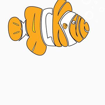 Blackout Clothing Clown Fish by mattpimm