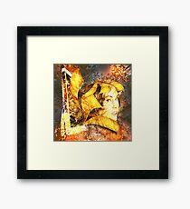 Hi tech Godess by Annabellerockz Framed Print