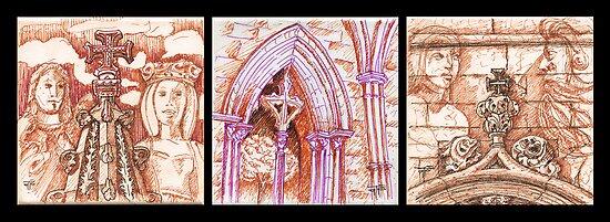 stone skecthes by terezadelpilar ~ art & architecture