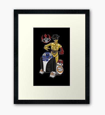 Beastie Bots Framed Print