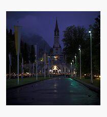 Sanctuary of Lourdes, France 2005 Photographic Print
