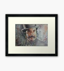 Daniel Day Lewis - Portrait 2 Framed Print