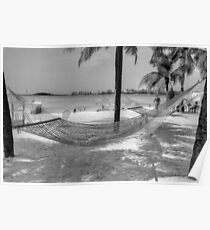 Junkanoo Beach in Nassau, The Bahamas Poster