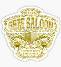 The Gem Saloon  Sticker