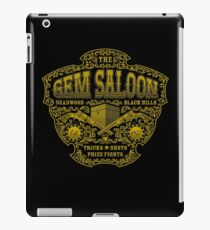 The Gem Saloon  iPad Case/Skin