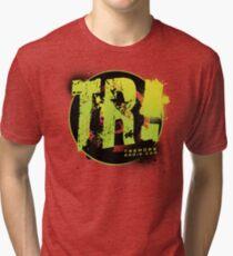 Tremors Radio TR! Splat Shirt Tri-blend T-Shirt