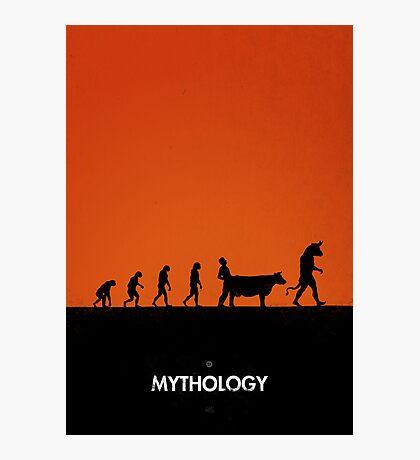 99 Steps of Progress - Mythology Photographic Print
