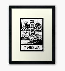 Temprence  - Tarot Cards - Major Arcana Framed Print