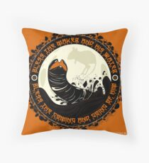 Shai Hulud Throw Pillow