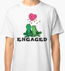 "Funny Engaged ""We're Engaged"" Classic T-Shirt"