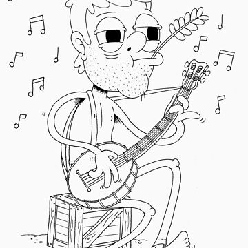 Banjo Man by kidneyjohn