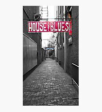 House of Blues Photographic Print