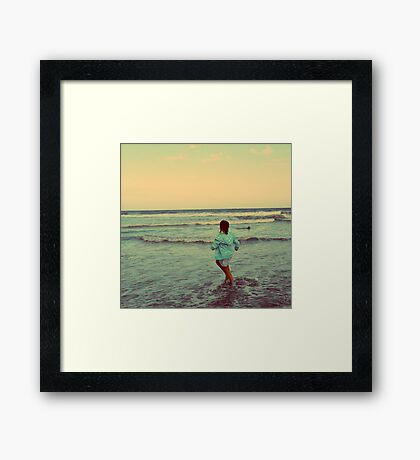Freedom is Real Framed Print