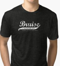 Bruise is my favorite color (sans band aide) Tri-blend T-Shirt