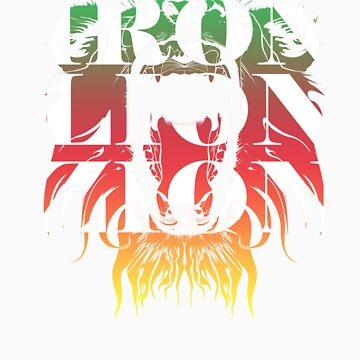Iron Lion Zion T shirt by jackthewebber