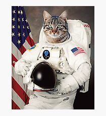 ASTRO CAT Photographic Print