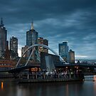 Ponyfish Island - Melbourne by Timo Balk