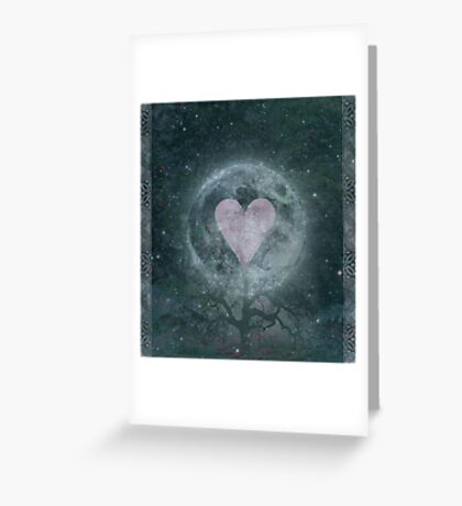 Moon Garden  Greeting Card