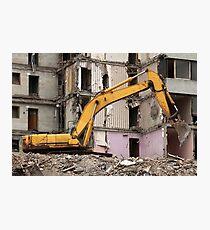 excavator Photographic Print