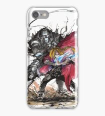 Tribute to Elric Brothers from Fullmetal Alchemist iPhone Case/Skin