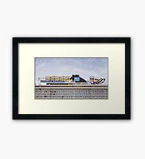 Norwegian Cruise Line Framed Print