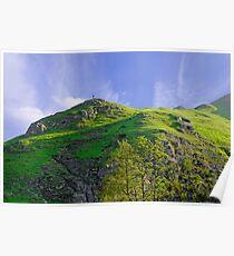 Thorpe Cloud Peaks, Dovedale  Poster