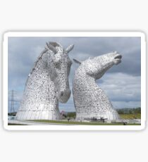 The Kelpies gifts , Helix Park, Scotland Sticker