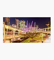 Kurilpa Bridge, Brisbane Photographic Print