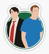 Peep Show Sticker