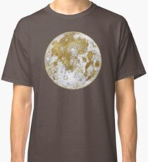 Golden Moon Pattern Classic T-Shirt