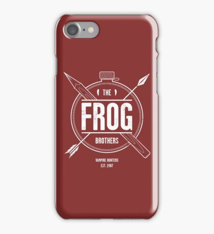 The Frog Brothers iPhone Case/Skin