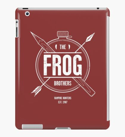 The Frog Brothers iPad Case/Skin