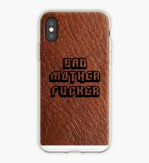 Bad Motherfucker Leather - Pulp Fiction iPhone Case