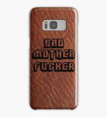 Bad Motherfucker Leather - Pulp Fiction Samsung Galaxy Case/Skin