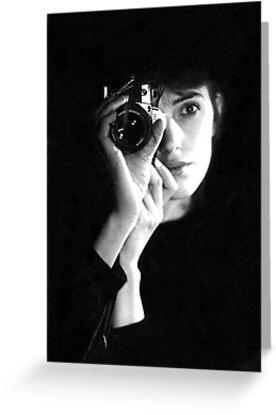 Selfportrait 1984 by Esmé Lammers