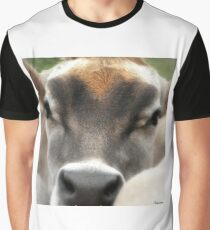 Cow  Eyes Graphic T-Shirt