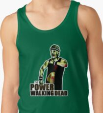 The Power Walking Dead (on Green) [iPad / Phone cases / Prints / Clothing / Decor] Tank Top