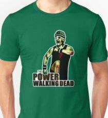 The Power Walking Dead (on Green) [ iPad / iPhone / iPod Case   Tshirt   Print ] Unisex T-Shirt