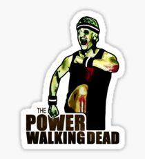 The Power Walking Dead (on Green) [ iPad / iPhone / iPod Case | Tshirt | Print ] Sticker