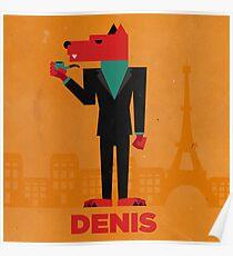 Denis (LE LOUP-GAROU) Poster