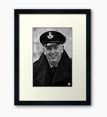 Pete Button Framed Print