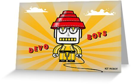 Devo Bots 001 by REMOGRAPHY Remo Camerota