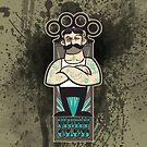 Victorian Fight Club - Tattoo Splatter by Rob Stephens