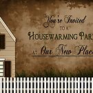 Housewarming Invitation - Warmth by Trudy Wilkerson