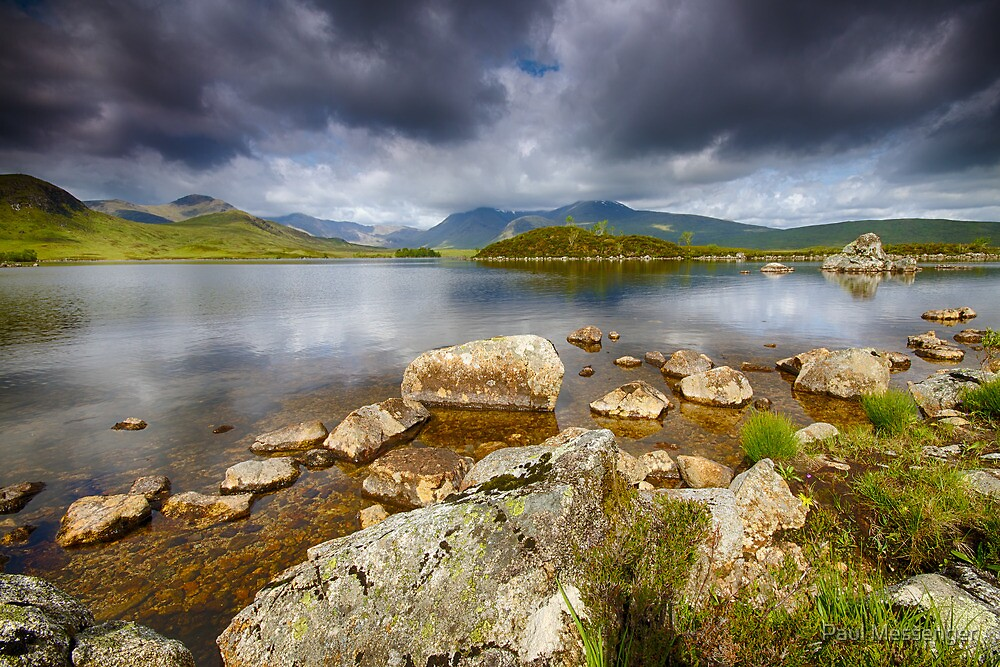 Rannoch Moor  Scotland by Paul Messenger