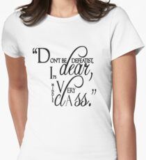 "Lady Violet Quotes "" Don't be defeatist dear, it's very middle class"" T-Shirt"