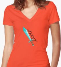 AVAST - *Limited* Diamond Edition Women's Fitted V-Neck T-Shirt