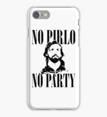 No Pirlo, No Party v2 iPhone Case/Skin
